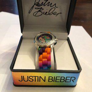 Justin Bieber watch. BRAND NEW.